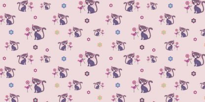 Flanel Cat light rosa