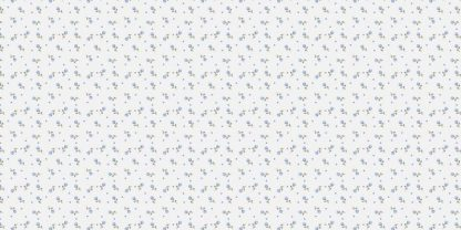 Flanel Spot Flowers blue