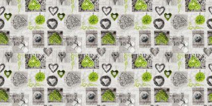 Krepp Love green
